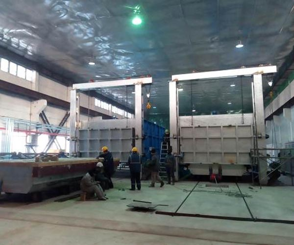 Tempering furnace for steel balls