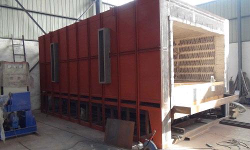 bogie hearth furnace 4