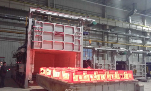 Trolley-annealing-furnace