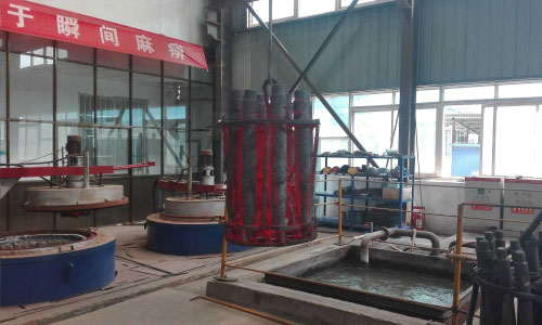 2Shaft parts pit quenching furnace