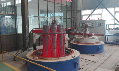 2Pit electric resistance furnace