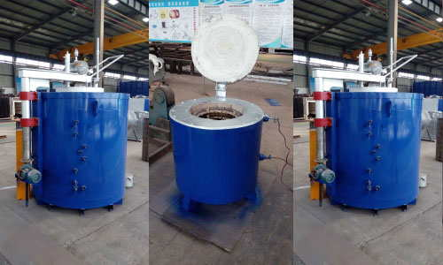 Pit electric resistance furnace