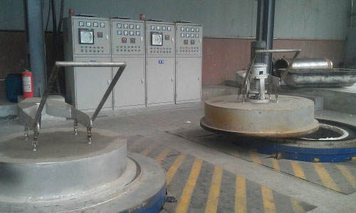 3Pit tempering furnace