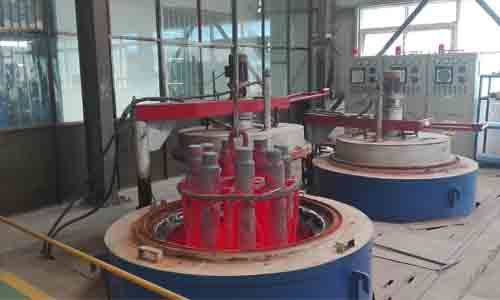 heat treatment for crusher wear parts