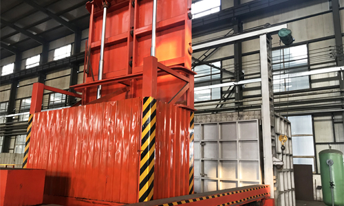 Forklift Type Moving Quenching Mechanism 1